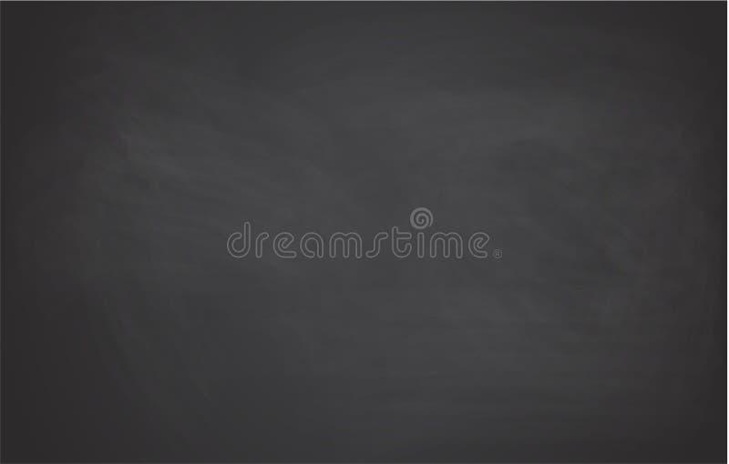 Czerni chalkboard tło najlepszego ściągania oryginalni druki przygotowywali teksturę V2 royalty ilustracja
