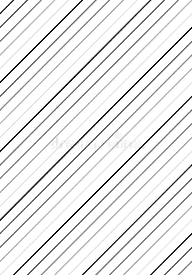 Czerni & White Stripes wzór ilustracja wektor
