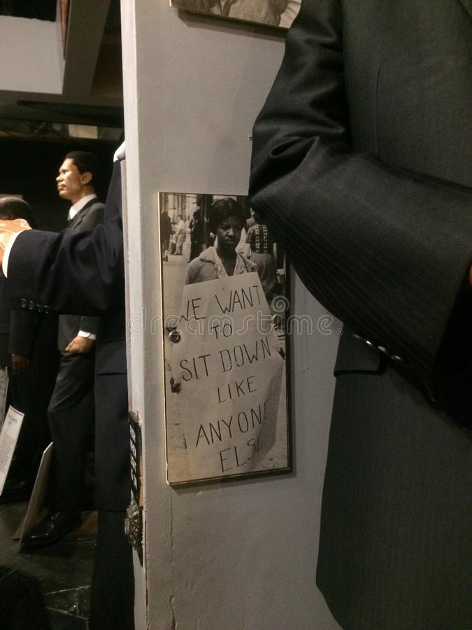 Czernie i wosku muzeum zdjęcia stock