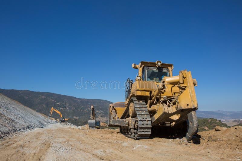 Czerparek pełni ciężarówka zdjęcie royalty free