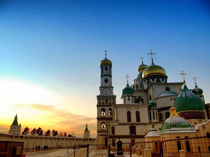 2007 23 czerwca Jerusalem klasztor nowego Rosji zdjęcie royalty free