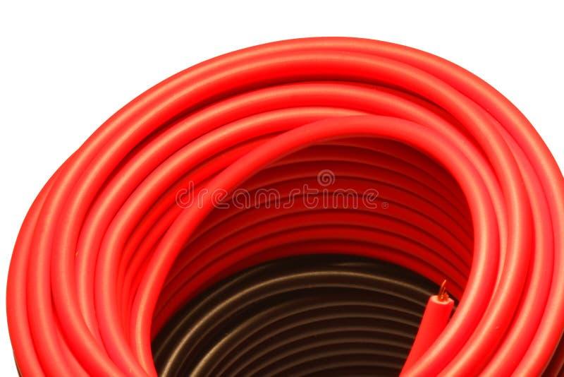 czerwień czarny drut obrazy royalty free
