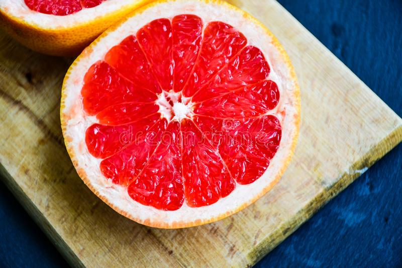 czerwień grapefruitowa zdjęcie royalty free