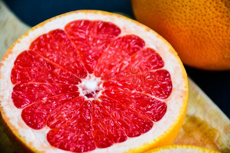 czerwień grapefruitowa zdjęcia stock