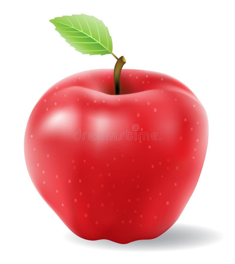 czerwień jabłczany wektor