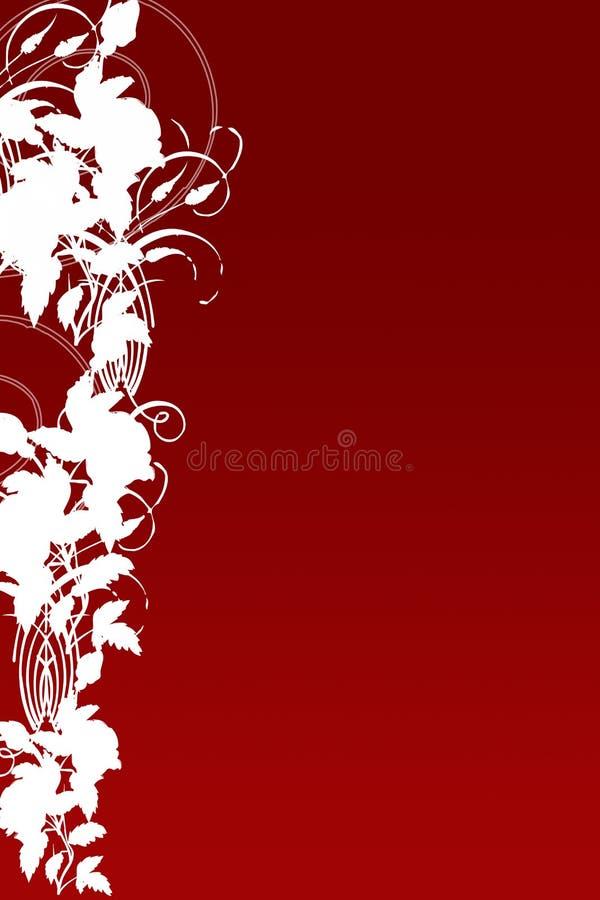 czerwień liści, ilustracja wektor