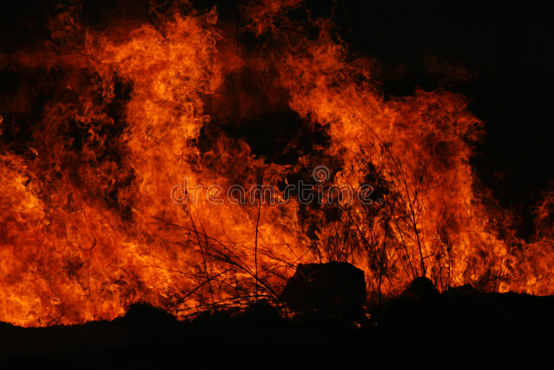czerwień płomieni obrazy royalty free
