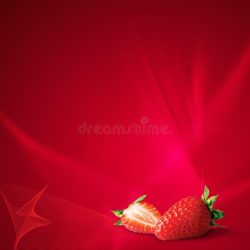 czerwień srawberry zdjęcia royalty free