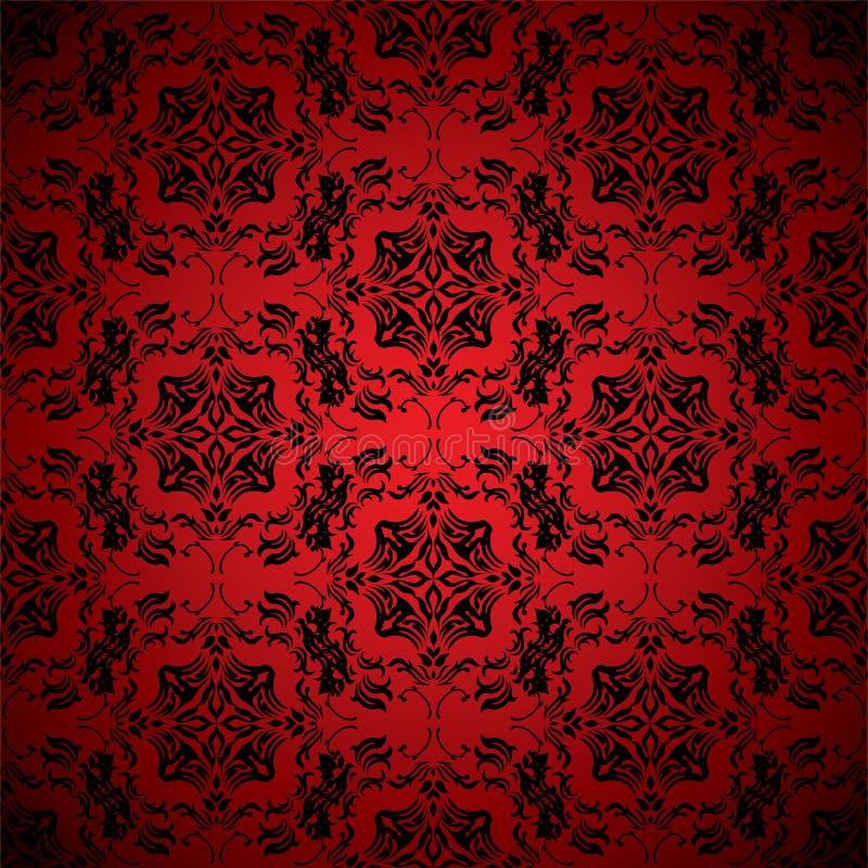 czerwieni krwionośna tapeta royalty ilustracja