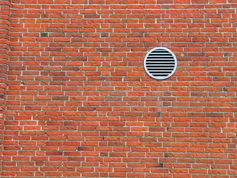 czerwona ściana cegły zdjęcie royalty free