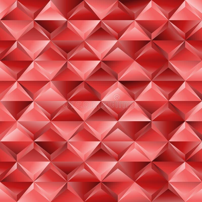 Download Czerwona Bezszwowa Tekstura Ilustracja Wektor - Ilustracja złożonej z nowożytny, dekoracje: 28961952