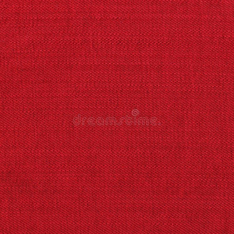 czerwona cajg tekstura obraz stock