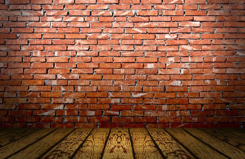czerwona cegły scena