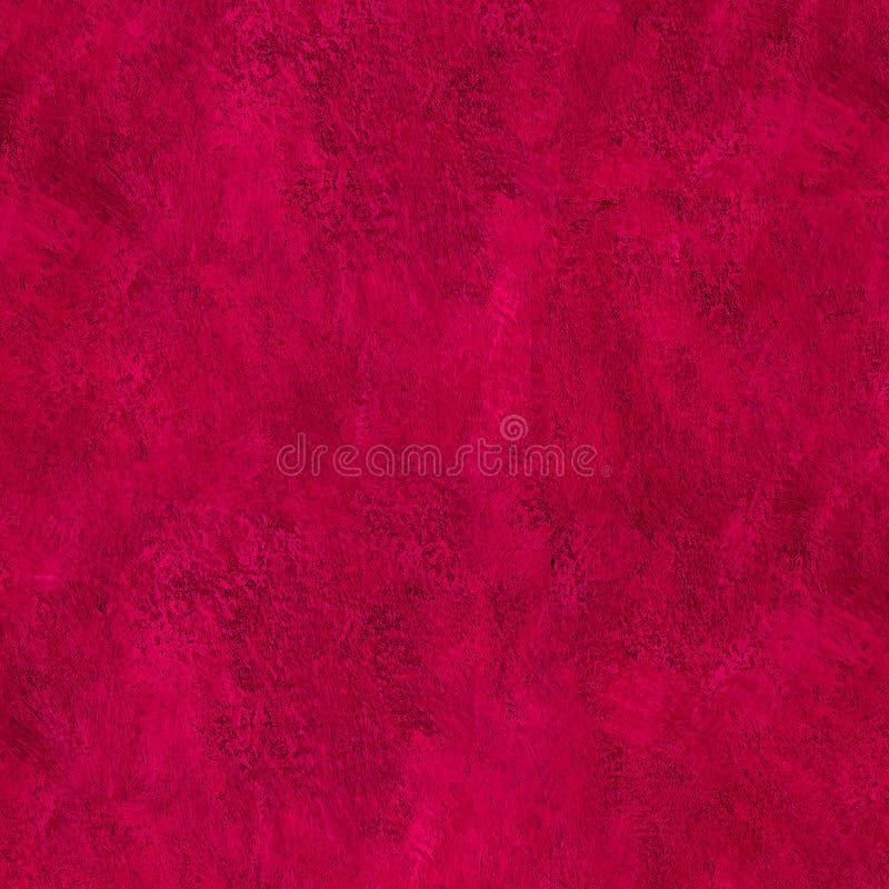 Czerwona farba muska tekstura abstrakt zdjęcie stock