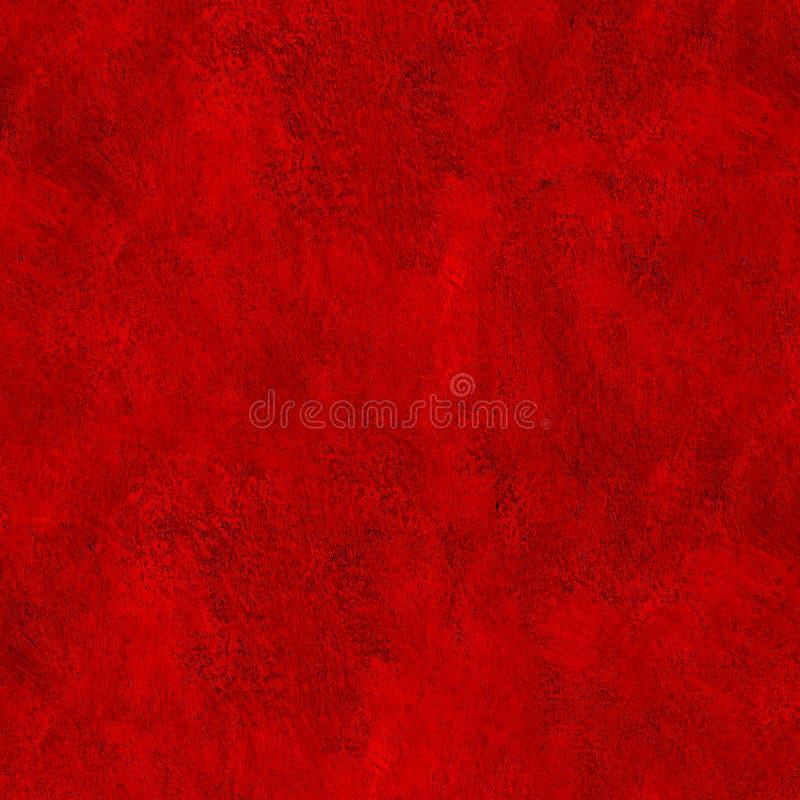 Czerwona farba muska tekstura abstrakt fotografia stock