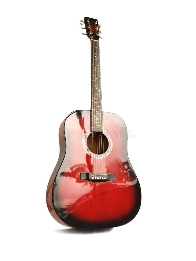 czerwona gitarę royalty ilustracja