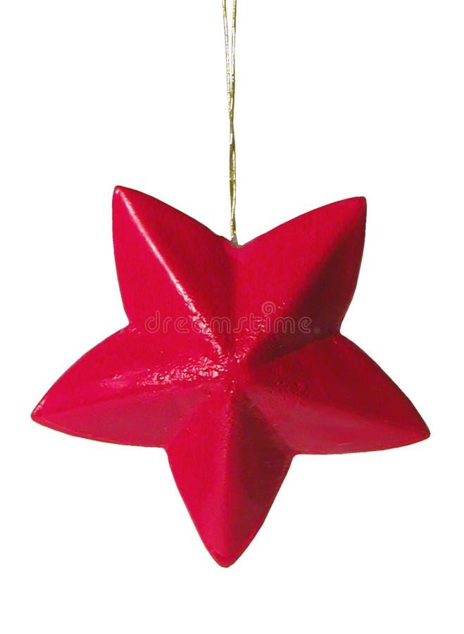 Czerwona Gwiazda Zdjęcie Royalty Free