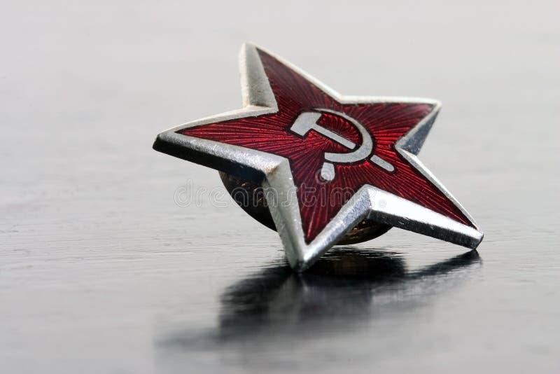 czerwona gwiazda zdjęcie stock
