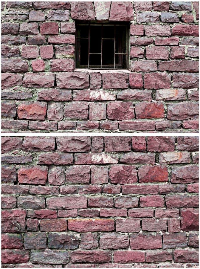 Download Czerwona kamienna ściana obraz stock. Obraz złożonej z fasada - 28970685