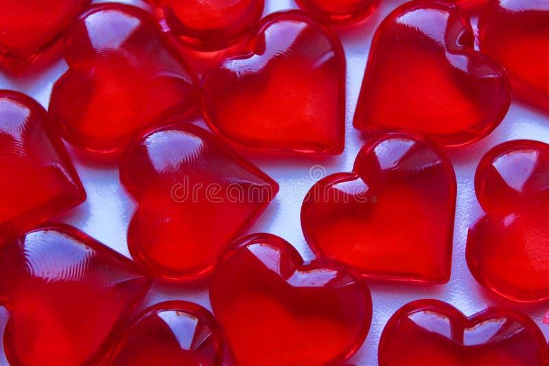 Czerwona kierowa kształt tekstura rozkładająca na stole obrazy royalty free
