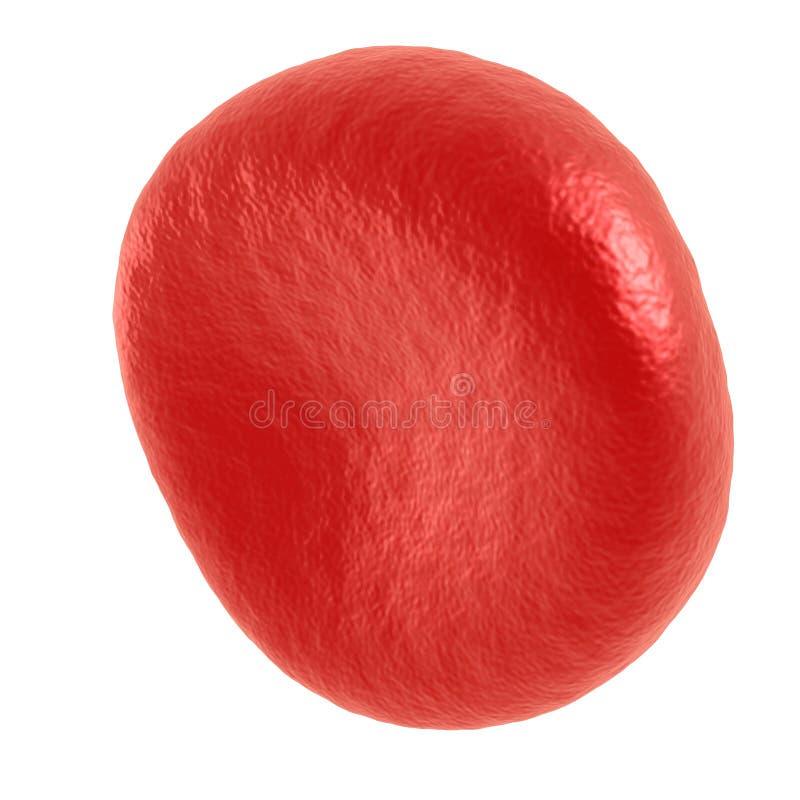 Czerwona komórka krwi royalty ilustracja