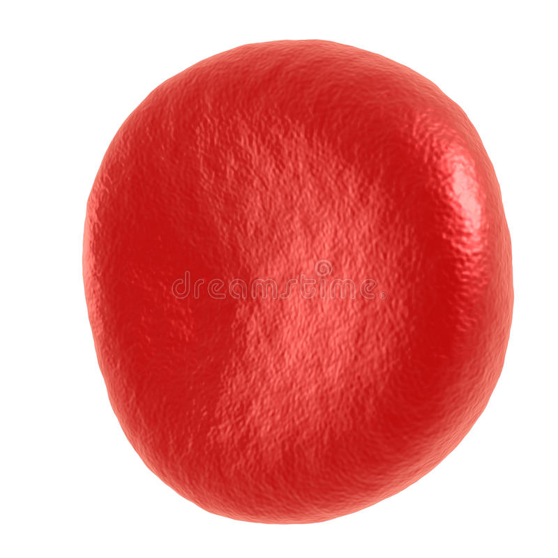 Czerwona komórka krwi ilustracja wektor