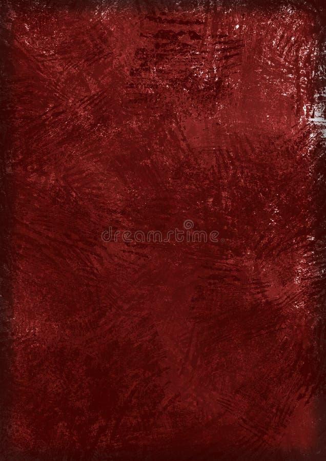 - czerwona konsystencja ciemności ilustracja wektor