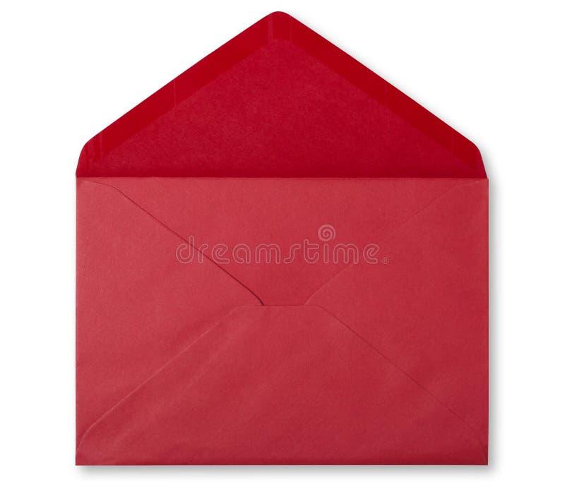 czerwona koperta zdjęcie stock