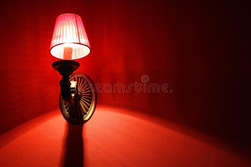 czerwona makata obrazy stock