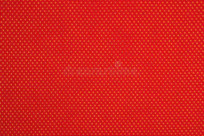Download Czerwona Nonwoven Tkanina Na Kolorze żółtym Zdjęcie Stock - Obraz złożonej z moda, zbliżenie: 53783432