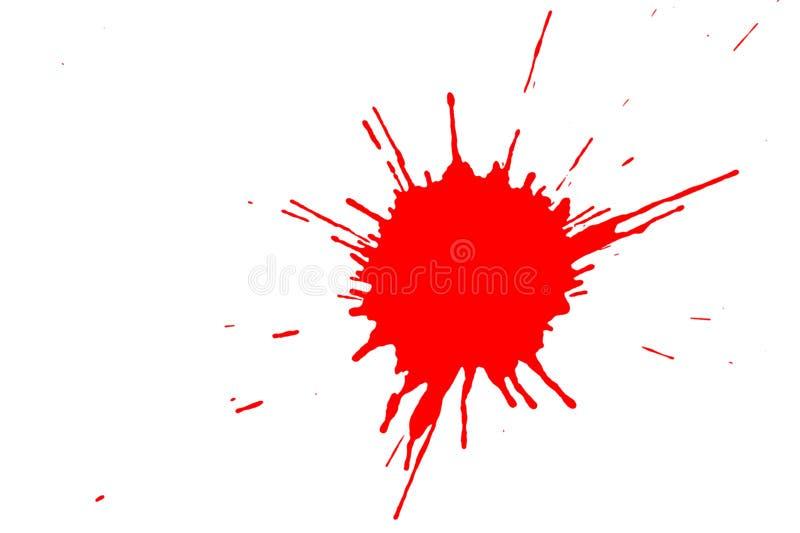 czerwona plama fotografia royalty free