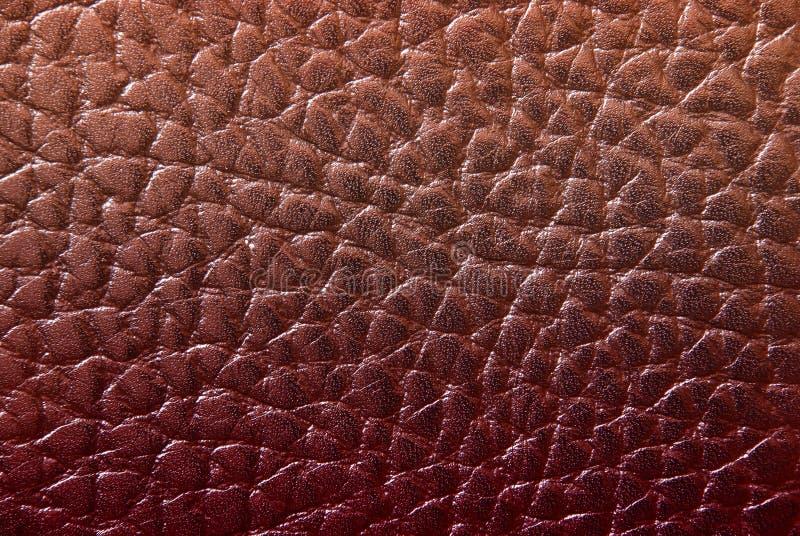 czerwona skórzana konsystencja zdjęcia stock