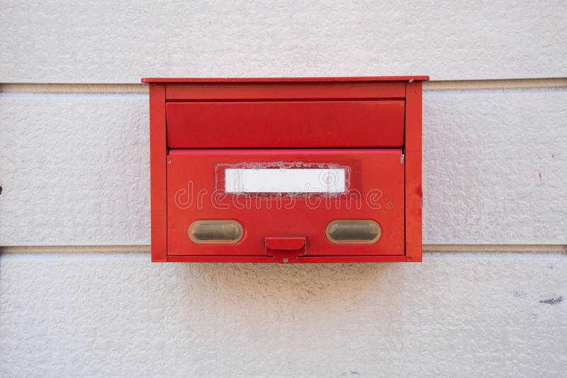 Download Czerwona Skrzynka Pocztowa W Japonia Zdjęcie Stock - Obraz złożonej z czerwień, postbox: 65226118