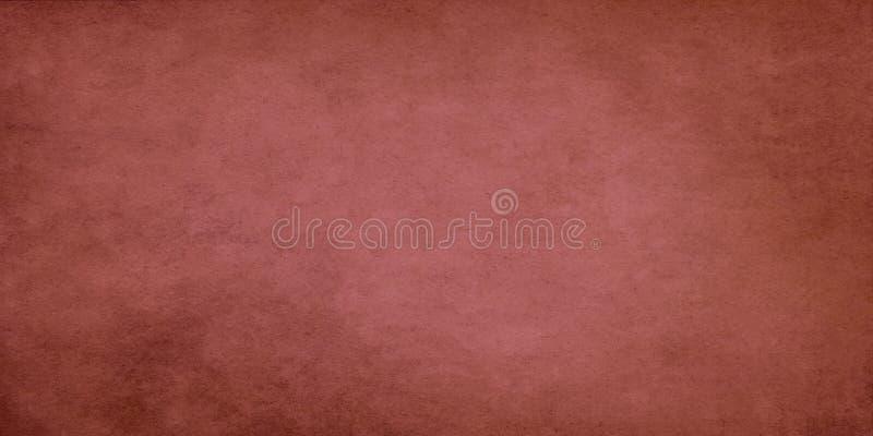 Czerwona szeroka grunge skutka tekstura zdjęcia stock