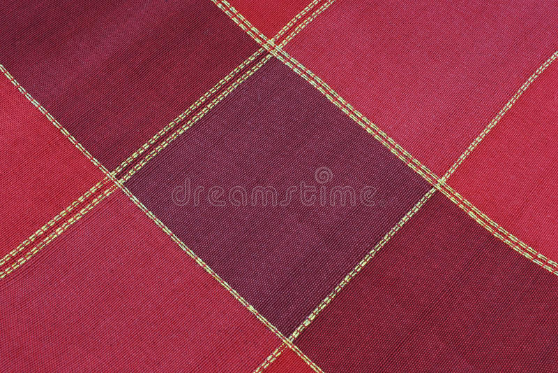 czerwona tkaniny tekstura zdjęcie stock