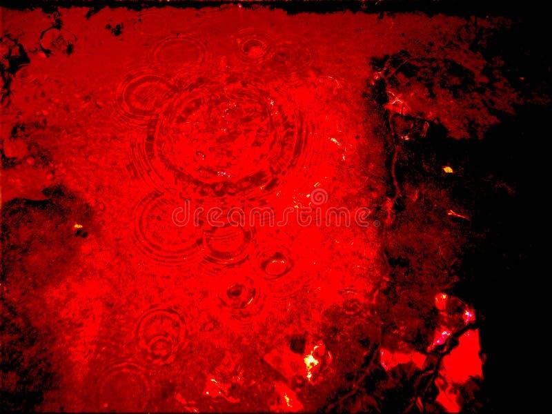 czerwona woda zdjęcie stock