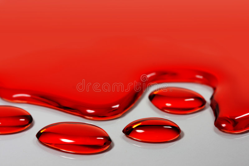 czerwona woda zdjęcie royalty free