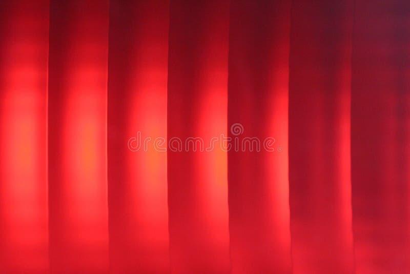 czerwone światła hamowania fotografia stock