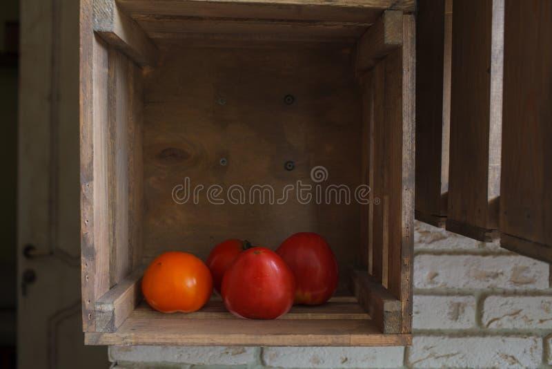 czerwone świeżych pomidorów obraz royalty free