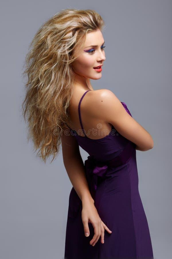 czerwone blond wargi zdjęcia royalty free