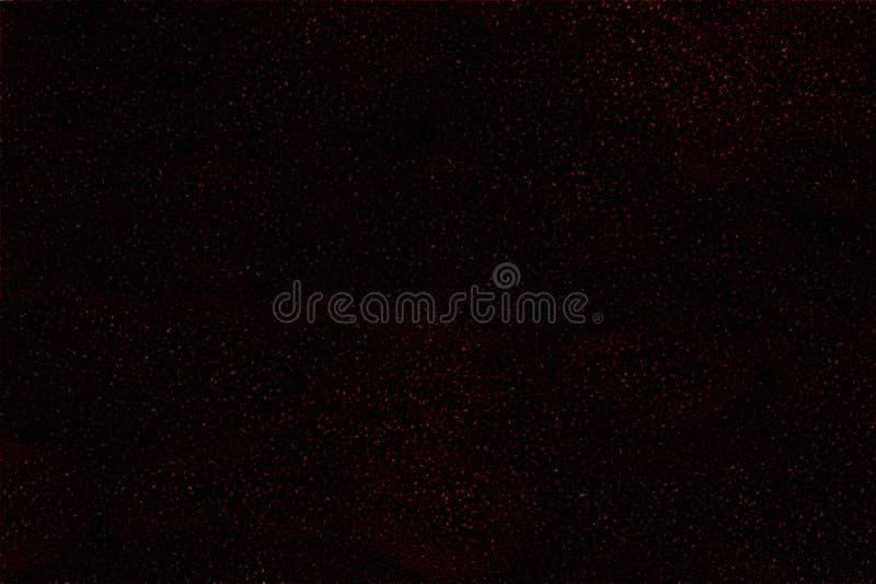 Czerwone cząsteczki W niebie zdjęcie stock