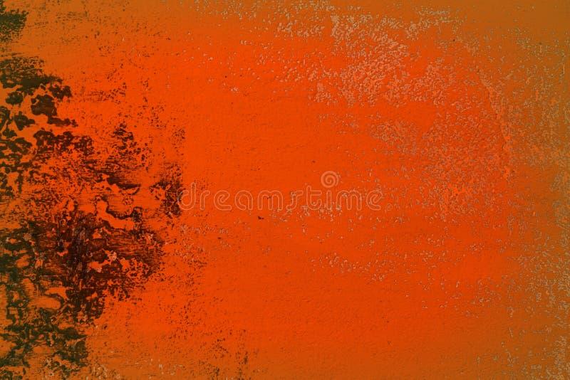 Czerwone duże dziury na pasiastej okładkowej teksturze - fantastyczny abstrakcjonistyczny fotografii tło obraz stock