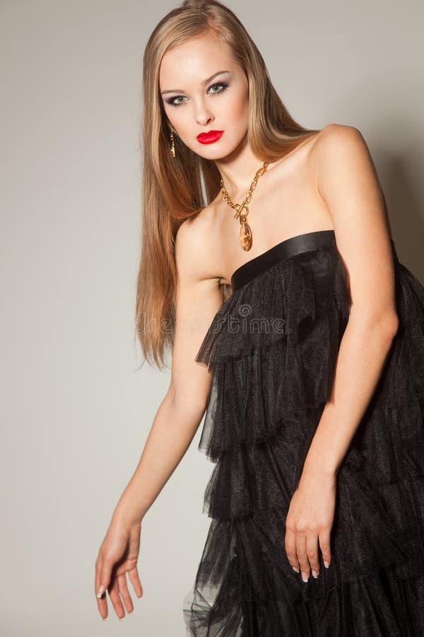 czerwone dziewczyn modne wargi zdjęcie stock