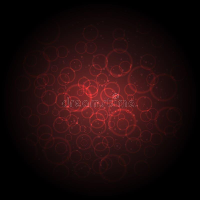 Czerwone komórki krwi obrazy stock
