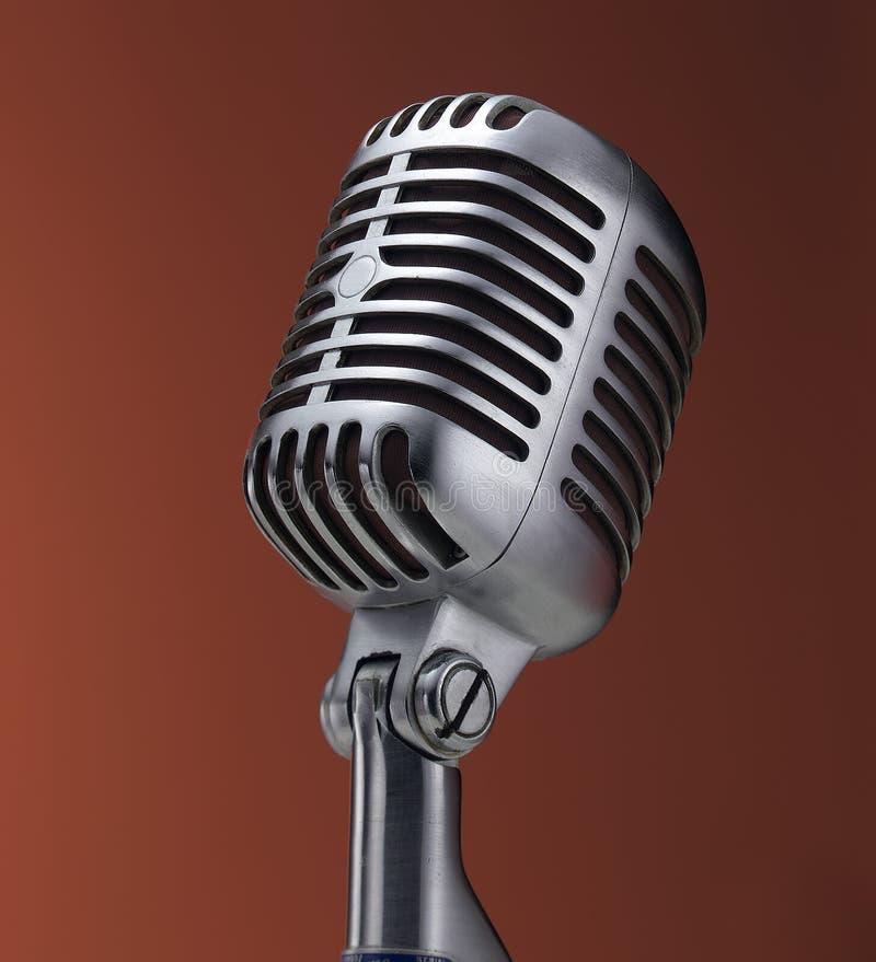 czerwone rocznego mikrofonu obrazy royalty free