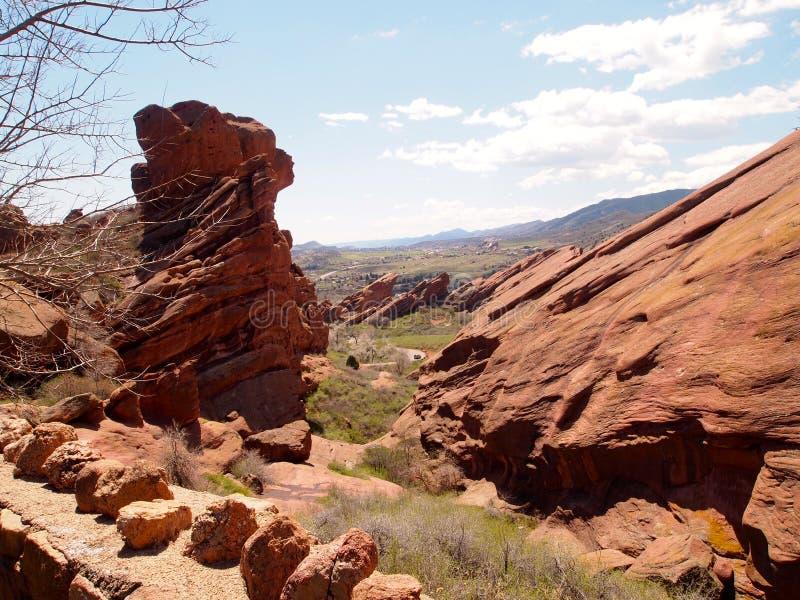 czerwone skały obraz stock