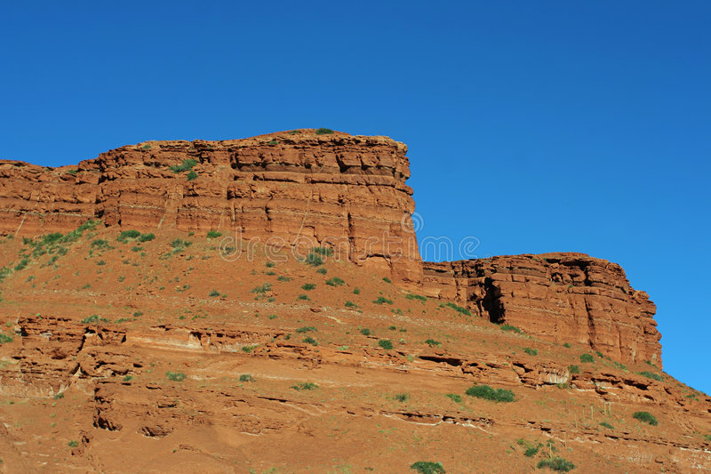 czerwone skały Wyoming obraz stock