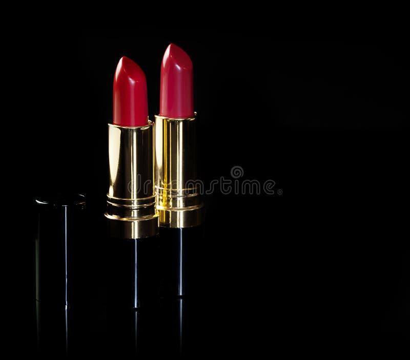 czerwone szminkę fotografia stock
