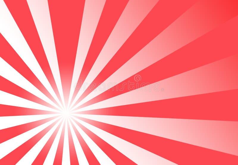 czerwone tło abstrakcyjna ogniska tapeta ilustracji