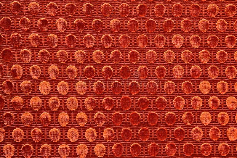 czerwone tapicerka tkaniny zdjęcie stock